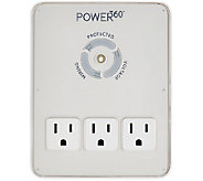 Panamax Power 360 Six Outlet and 2 USB Charging Wall Mount - E228325
