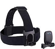 GoPro Head Strap and QuickClip - E290625
