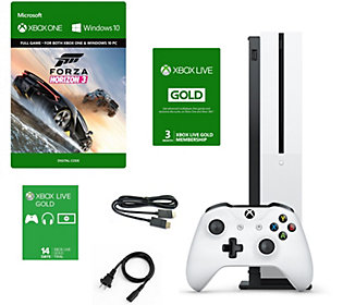 Xbox One S 1TB Forza Bundle with 3-Month Live Card