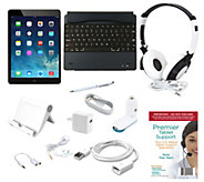 Apple iPad Air2 64GB WiFi with Keyboard Cover, 7pc Accessories & Tech Support - E226826