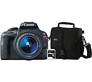 Canon EOS Rebel SL1 18MP Digital Camera with Bag & SD Card - E271426