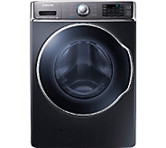 Samsung 5.6 Cubic Ft. Front-Load Washer with PowerFoam - Onyx - E277926