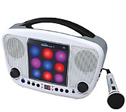 Karaoke Night CD Sing-A-Long with LED Light Show - E284126