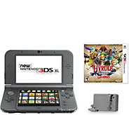 New Nintendo 3DS XL with AC Adapter and Hyrule Warriors - E289926