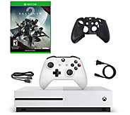 Xbox One S 500GB Console with Destiny 2 andSilicone Sleeve - E292726
