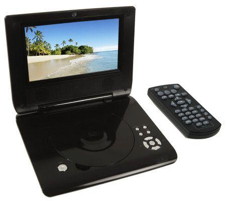 gpx portable dvd player manual