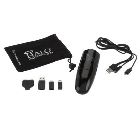 HALO Universal Wall/Car Charger w/USB Cable & Tips