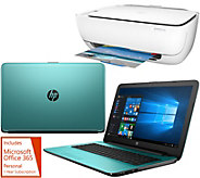 HP 17 Laptop 8GB RAM 1TB HDD Intel Core i3 Two Yr Tech, HP Printer &Office - E229827