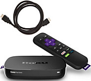 Roku Premiere 4K Ultra HD Media Streaming Device with 5ft HDMI Cable - E230727