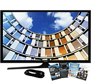 Samsung 43 Class LED Smart HDTV with 6 HDMI Cable & Softwar - E291527