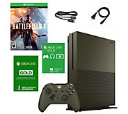 Xbox One S 1TB Battlefield SE Console with 3-Month Live Card - E291827