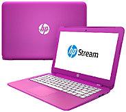 HP Stream 13 Intel Laptop 2GB, 32GB SSD, MS Office 365 & Magenta Case - E227628