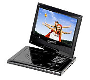 SuperSonic SC-179 9 Diag. Portable DVD Player,Swivel Display - E251128
