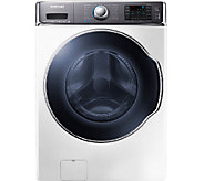 Samsung 5.6 Cubic Ft. Front-Load Washer with PowerFoam - Whit - E277928