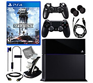 Sony PS4 Star Wars Battlefront Bundle w/ 8-in-1Accessory Kit - E287028