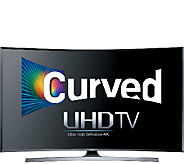 Samsung 40 Class LED 4K Ultra HD Curved SmartTV - E287128