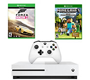 Xbox One S 2TB with Forza Horizon 2 & MinecraftFavorites Pack - E289928