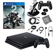 Sony PS4 Pro 1TB Bundle with Destiny 2 & Accessories - E292328