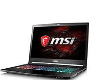 MSI 17.3 Laptop - Intel i7, 16GB RAM, 256GB SSD, 1TB HDD - E292928