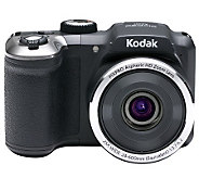 Kodak 16MP 25X Opt. Zoom Digital Camera with 24mm Wide Angle - E272129