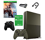 Xbox One S 1TB Battlefield SE Console w/ Headset or Controlle - E291829