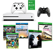 Xbox OneS 500GB with Minecraft Forza, Halo 5 and Extra Controller - E230730