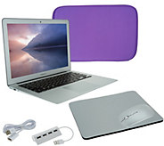 Apple Macbook Air 13 Bundle w/ Accessories Neoprene Sleeve & WirelessMouse - E231130