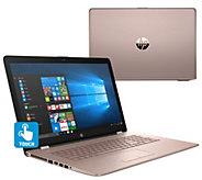 HP 17 Touch Laptop AMD 8GB RAM 1TB HDD w/ Office, ADP, 3-year Warranty - E231930