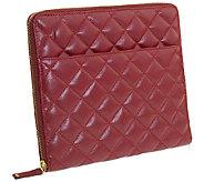 Eco Style Bordeaux iPad Case - E275530