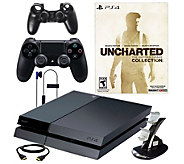 Sony PS4 Uncharted Bundle with Accessories - E287030