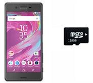 Sony Xperia X 32GB Unlocked Phone with 128GB microSD Card - E289730