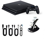 PlayStation 4 1TB Pro Console with Dual Charging Dock - E292730