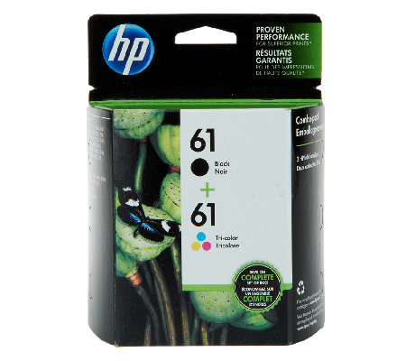Hp  Black And Color Ink Cartridge Combo Pack