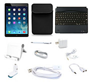 Apple iPad Air2 16GB WiFi with Bluetooth Keyboard & 6pc Starter Kit - E227731