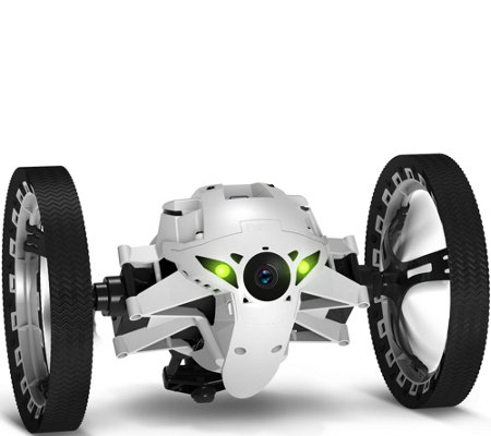 Parrot Jumping Sumo Indoor & Outdoor Ground Drone w ...
