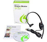 Nuance Dragon Dictate for Mac v4 - E283431