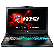MSI 15 Apache Pro Gaming Laptop Core i7, 16GB RAM, GTX 960M - E285431