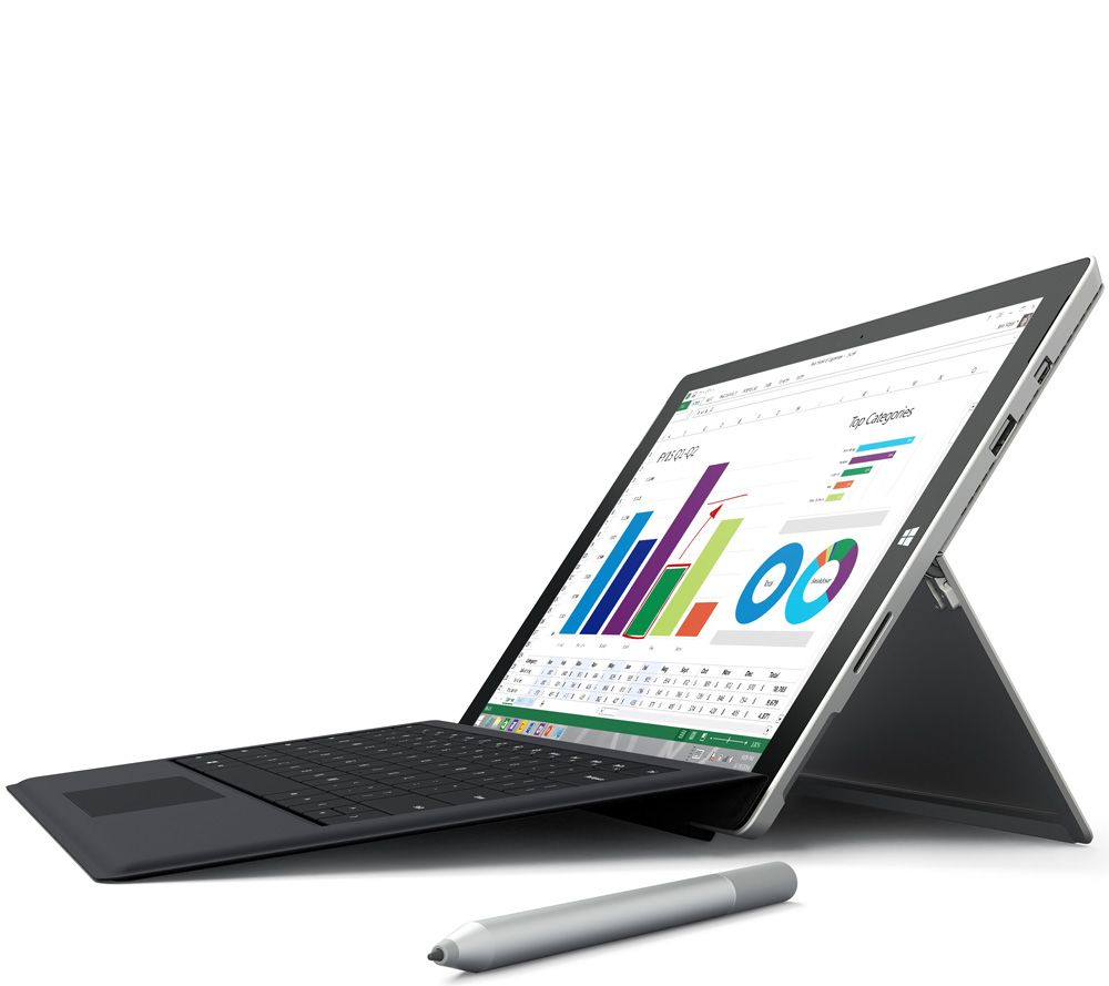 "Microsoft 12"" Surface Pro 3 Core i3 64GB SSDw/ 2 Year Tech - E286431"