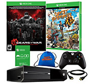 Xbox One 500GB Gears of War Bundle with SunsetOverdrive & Bag - E289031