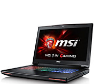 MSI GT72VR Gaming Laptop - Core i7, 12GB, 128GBSSD, GTX 1060 - E289831