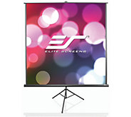 Elite Screens 136 TriPod B Series Portable Screen - E293431