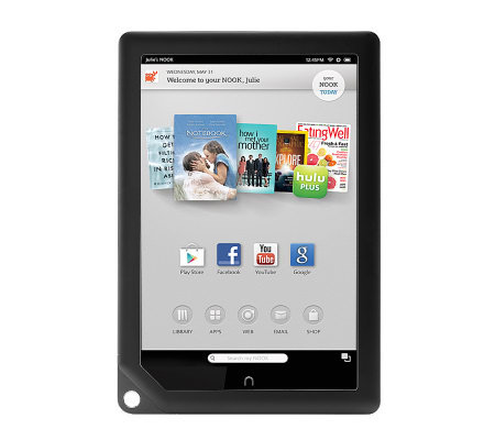 "Barnes & Noble NOOK HD 9"" 32GB Tablet w/ 2 Chargers & More"