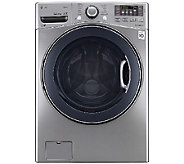 LG 4.3 Cu. Ft. Large Capacity Steam Front LoadWasher - E283232