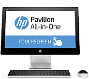 HP 23 All-in-One - AMD A8, 1TB HDD, Windows 10with Software - E285132