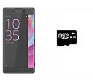 Sony XA Ultra 16GB Unlocked Phone with 64GB microSD Card - E289732