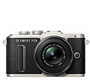 Olympus E-PL8 16.1 MP Mirrorless Camera w/ 14mm-42mm Lens - E290232
