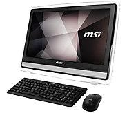 MSI 22ET  21.5 All-in-One - Intel N3700, 4GB RAM, 1TB HDD - E292932