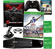 Xbox One 500GB Gears of War Bundle with Madden 16 & App Package - E228633