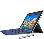 Microsoft Surface Pro 4 Core i5, 128GB Stylus, Support & Blue Keyboard - E229033