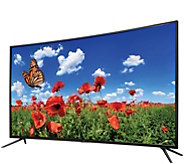 GPX 55 Curved 4K Ultra High Definition LED TV - E231133